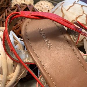 Express Shoes - Express size 9 sandals great condition